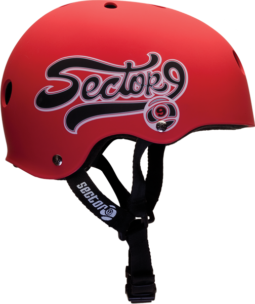 Sec9 Swift Helmet L-Red/Blk
