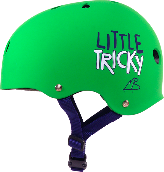 T8 Little Tricky Helmet Green Rubber Eps Liner