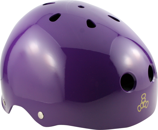 T8 Helmet Purple L