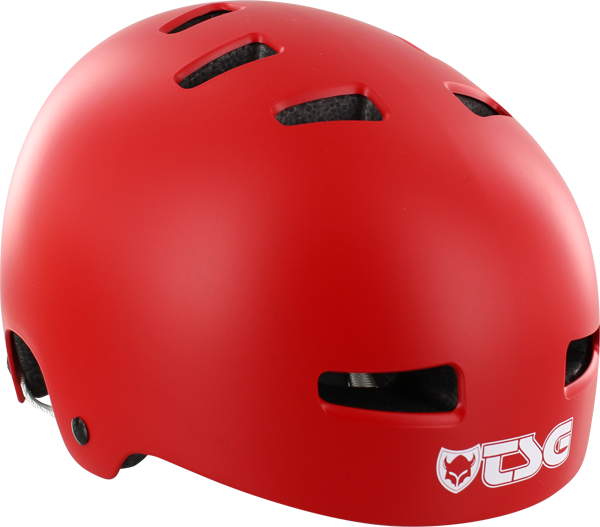 Tsg Evolution Helmet S/M-Flat Red