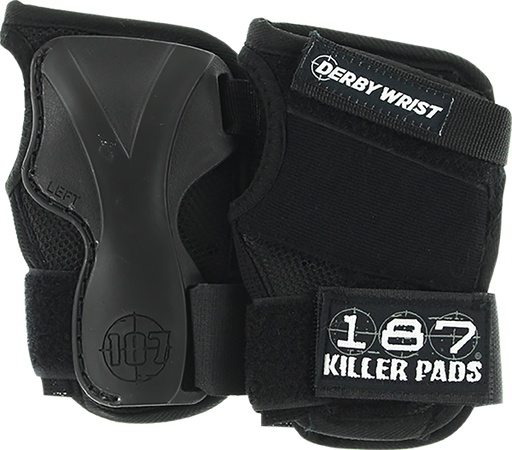 187 Derby Wrist Guard Xl-Black