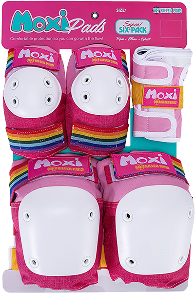 187 6-Pack Pad Set Xs-Moxi Pink
