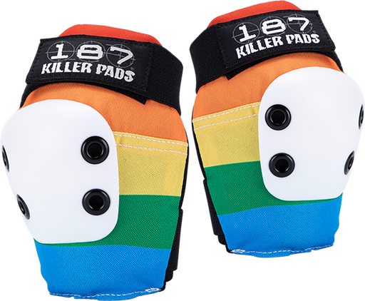 187 Slim Elbow Pads S-Rainbow