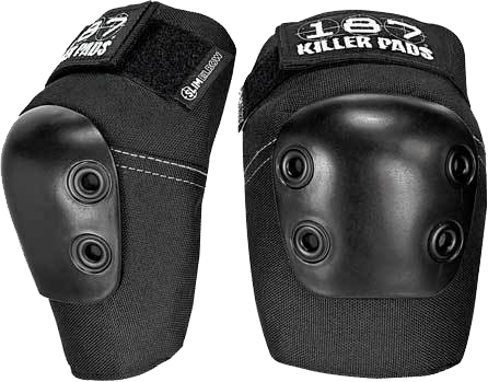 187 Slim Elbow Pads L-Black