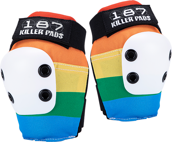 187 Slim Elbow Pads Xl-Rainbow