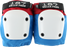 187 Fly Knee Pads M-Red/Wht/Blu W/Wht