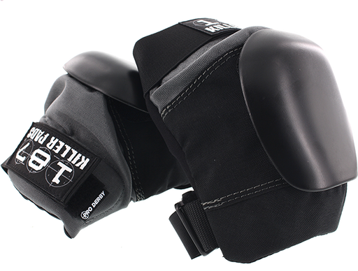 187 Pro Derby Knee Pads M-Blk/Grey