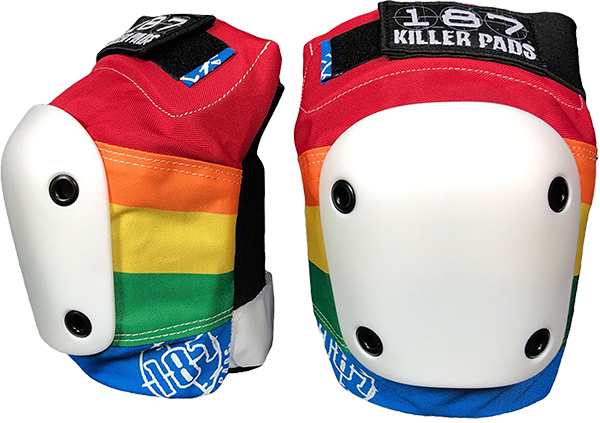 187 Slim Knee Pads Xl-Rainbow
