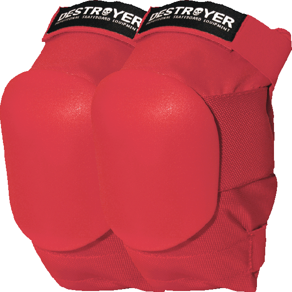 Destroyer Amateur Knee Xs-Red
