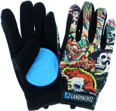 Landyachtz Comic Slide Gloves L