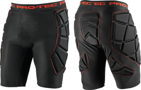 Protec Hip Pads L-Black