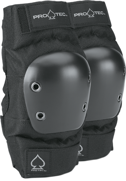 Protec Street Elbow Yth-Black