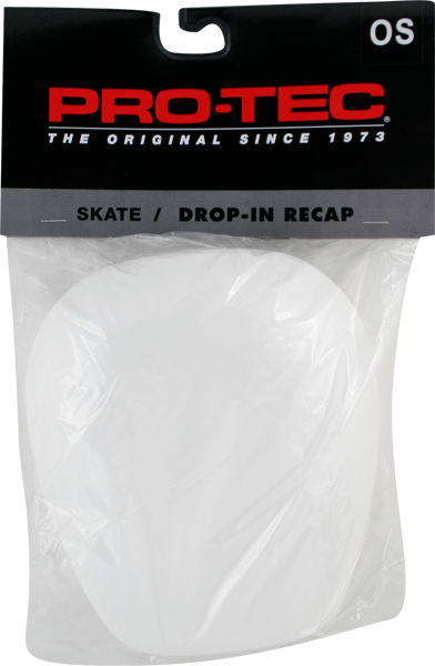 Protec Knee Pad Re-Caps White