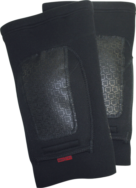 Protec Double Down Knee Yth-Black