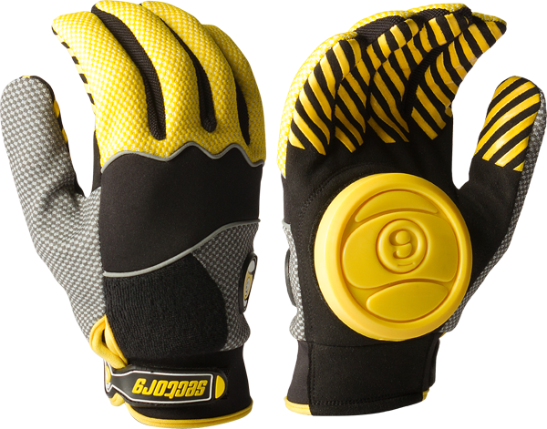 Sec9 Apex Slide Gloves S/M-Yellow(Yel/Grey/Blk)