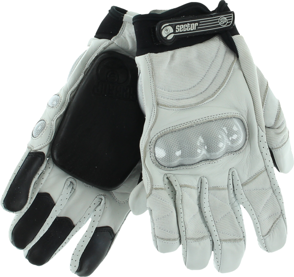 Sec9 Boxer Ii Slide Gloves L/Xl-White