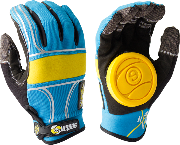 Sec9 Bhnc Slide Gloves S/M-Blue
