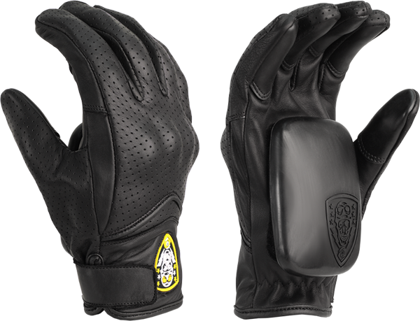 Sec9 Lightning Slide Gloves S/M-Black