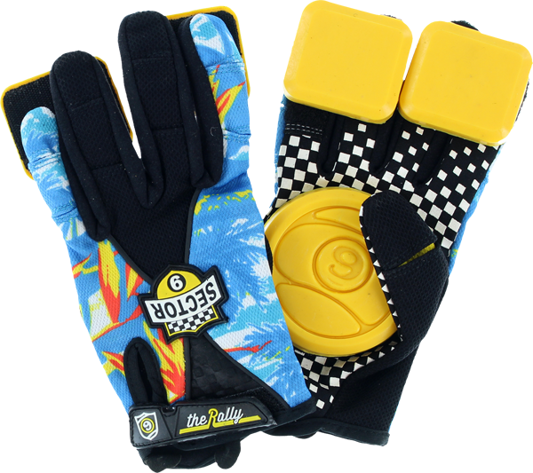 Sec9 Rally Slide Gloves Yth L/Xl-Hawaii
