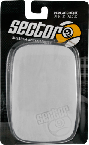 Sec9 2Pc Ergo Puck Pack-Wht (Palm)