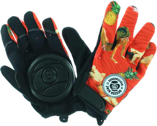 Sec9 Rush Slide Gloves Xs-Blk/Red