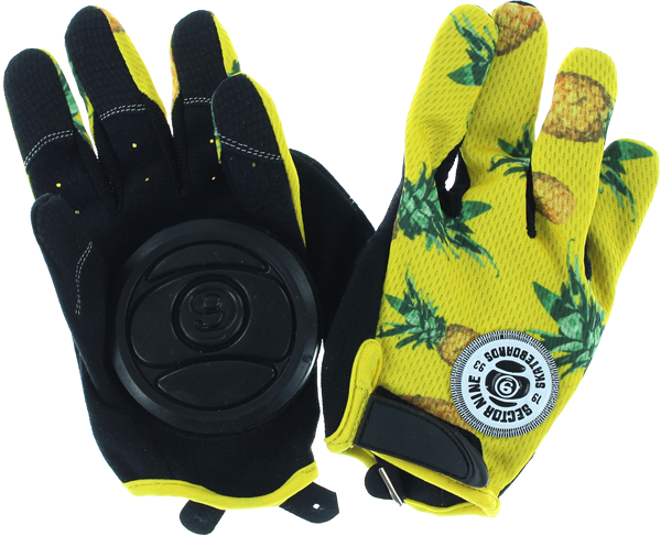 Sec9 Rush Slide Gloves Xs-Blk/Yel
