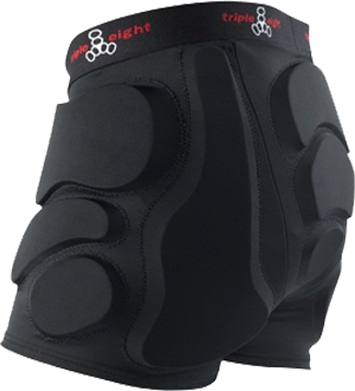 Triple 8 Roller Derby Bumsaver Xl-Black