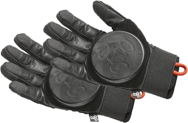 T8 Downhill Slide Gloves S/M-Black