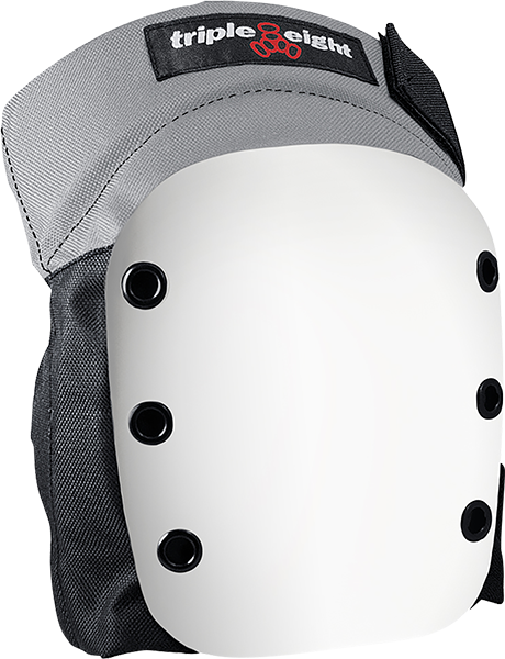 Triple 8 Street Knee Pad S-Black W/Wht Cap