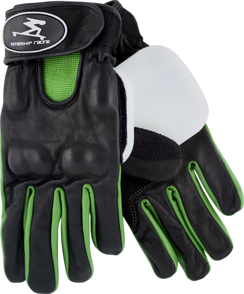 Timeship James Kelly Slide Gloves Xs-Blk/Green Sal
