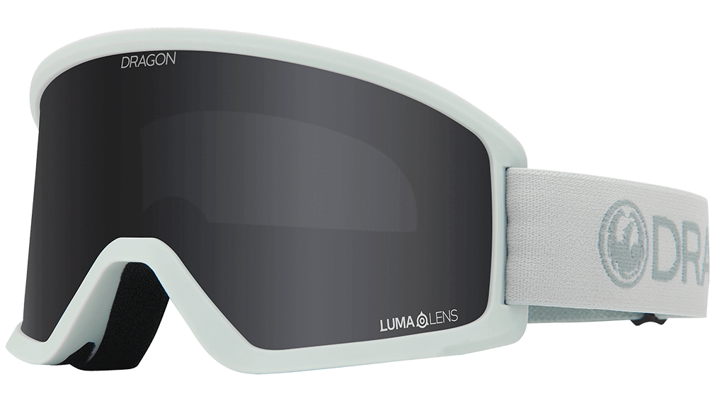 Dragon DX3 OTG Goggles - Light Salt + LumaLens Dark Smoke - 2021