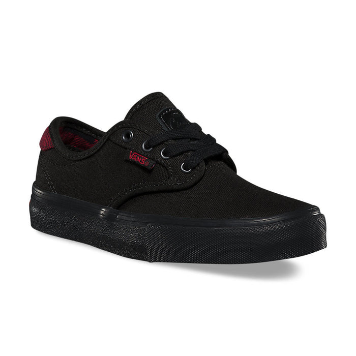 Vans Kids Chima Ferguson Pro Shoes - Flannel Black/Black