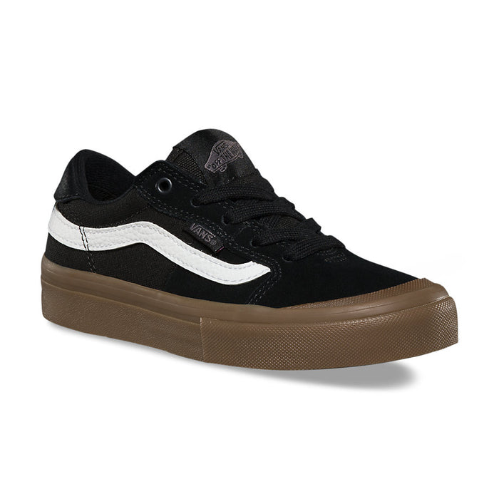 42d392ad78 Vans Kids Style 112 Pro Shoes - Black/White/Gum
