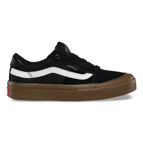 Vans Kids Style 112 Pro Shoes - Black/White/Gum