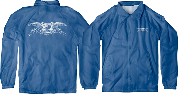 Ah Basic Eagle Double Windbreaker Yth M-Royal/Wht