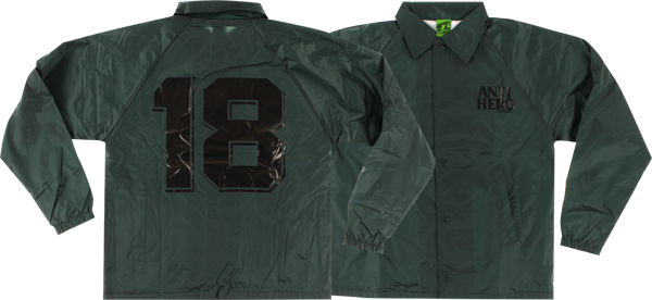 Ah Black League Coaches Jacket Xl-Dark Green