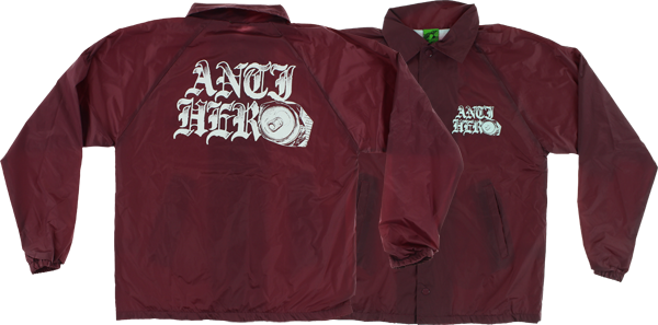 Ah Old-E Hero Coaches Jacket S-Maroon