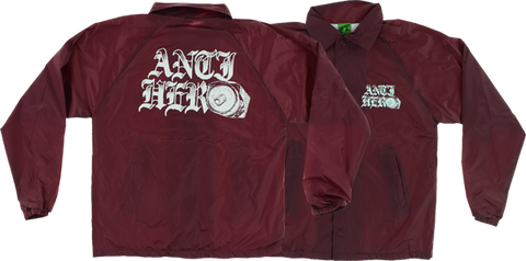 Ah Old-E Hero Coaches Jacket L-Maroon