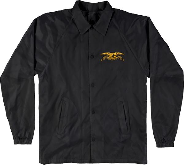 Ah Stock Eagle Patch Jacket L-Blk/Yel