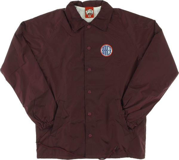 Baker Rotc Coaches Jacket Xl-Maroon