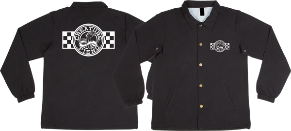 Creature Strike Fast Coach Jacket Xl-Black