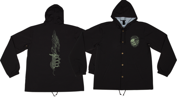 Creature Trench Knife Hooded Windbreaker L-Blk