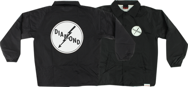Diamond Lightning Coaches Jacket Xl-Blk