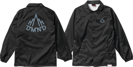 Diamond Mountaineer Coaches Jacket L-Blk/Charcoal