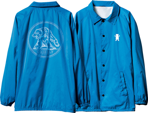 Grizzly Arena Coaches Jacket L-Royal