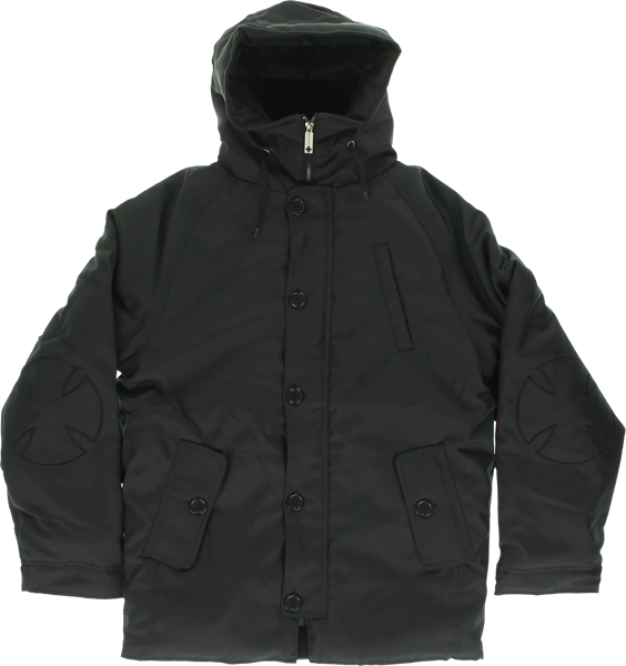 Inde Brisk Cold Weather Hooded Jacket S-Black