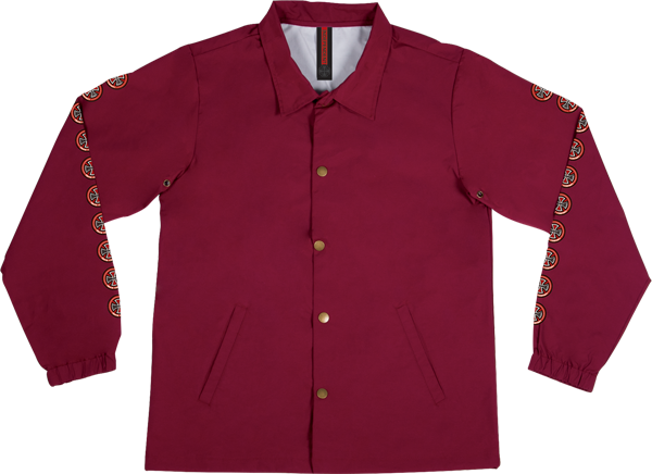 Inde Quatro Coach Windbreaker L-Cardinal Red