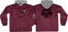 Inde Thrasher Pentagram Cross Windbreaker L-Maroon