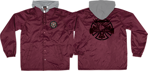 Inde Thrasher Pentagram Cross Windbreaker Xl-Marn