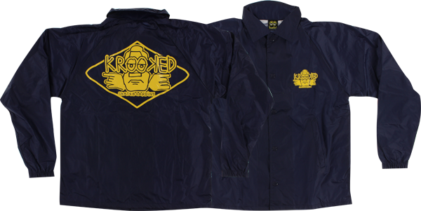 Krk Arketype Coaches Jacket S-Navy
